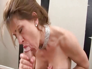 deep oral mature babe