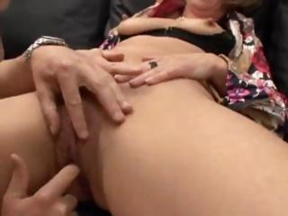 mature german bottom dp fisted