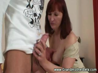 sexy old likes sucking libido