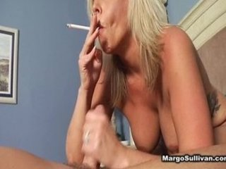 older mature smoking fellatio