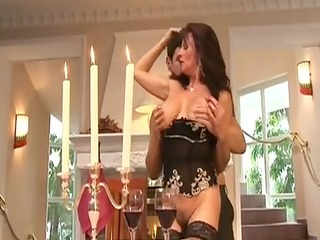 cougar doxy groupfucked by rich boy