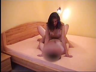 cheating lady with boyfriend inside hotel