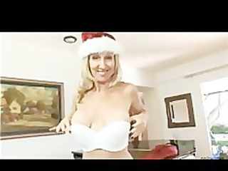 these lady has been busty for christmas
