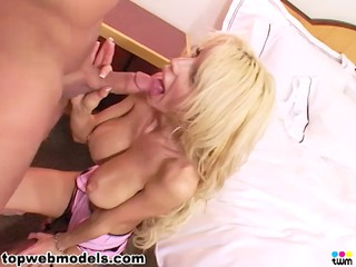 blond lady obtains her pussy and butt fucked