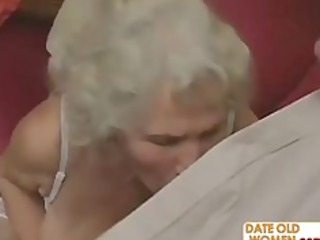 desperate grandma felt up and fucked hard