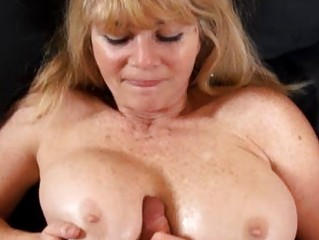 giant boob cougar lady copulates a inexperienced