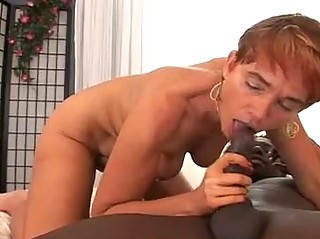 your woman licks ebony penis