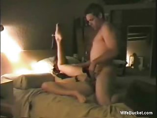 lady rotates a giant dildo and a happy dick