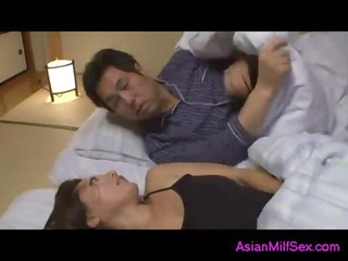 slutty babe fingering herself during guy sleeping