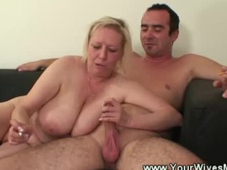 horny smoking cougar sex
