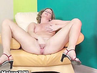 busty mature angel loves stretching her part2