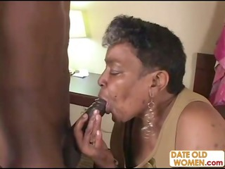 brown elderly obtains some inexperienced libido