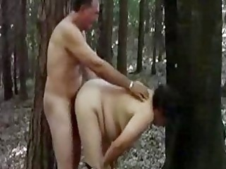 mother 51 fucking with stranger into forest