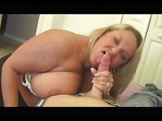 cougar bbw blowjob