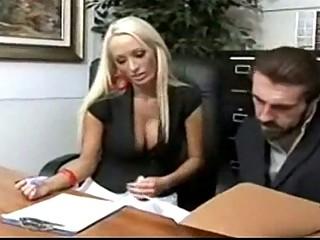lady boss lichelle marry inside nylons sm65