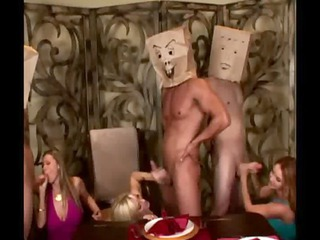 cfnm milf suck on faceless penises