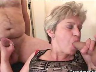 elderly triple act grown-up elderly porn elderly