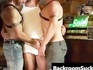 butch butt bashing in the back room part1