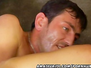 inexperienced maiden anal and penis sucking with