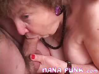 lusty grandma licks libido