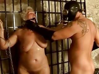 granny taking punished and gang-banged hard