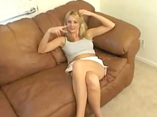 blonde slutty woman sucks slimy and fucks