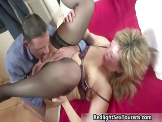 thick mature angel prostitute acquires her kitty