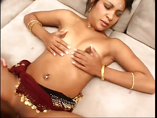 piercing his pretty indian woman !