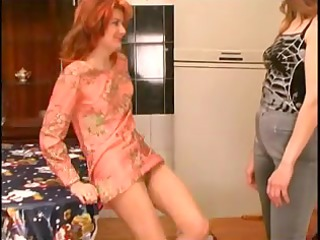 russian aged and her lesbo abode maid #3