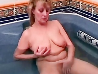 old ancient chick taking her cave didlo