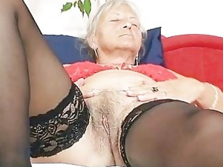 ugly grandma cecilie sex toys her hirsute aperture