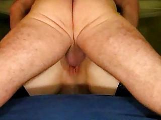 mature duo garter ass lick creampie
