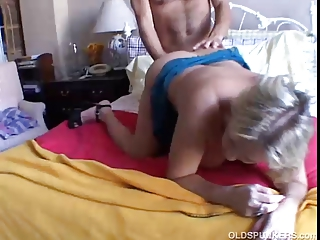 beautiful horny older babe boned and blasted
