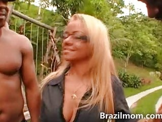 brazilian milf demonstrates off extremely