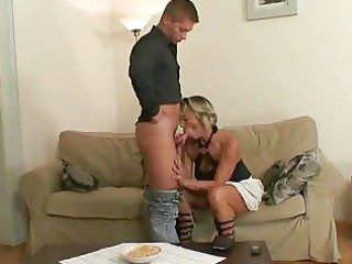 her woman seduces her hubby for sex