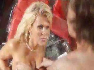 cougar blonde enjoys her cock hard and inside her