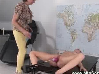porn machine bangs wet cougar cave