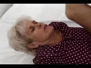 silver haired granny gang-bangs