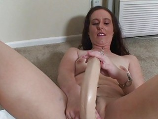 elderly lady worshiping her sex devices