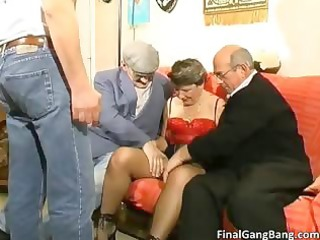 naughty giant boobed old belle slut tasting part4