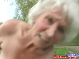 ancient elderly obtain gang-banged by fresh man