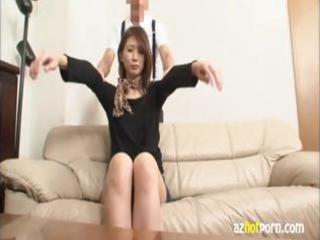extremely impressive japanese step mature babe