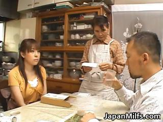 horny japanese milfs licking and drilling part4