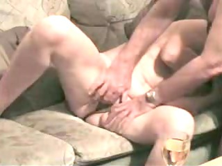 sweet sandra is fingered and fucked