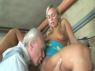 old duo having a valuable solitary with amateur