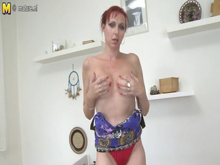damn sweet dilettante mother masturbating with