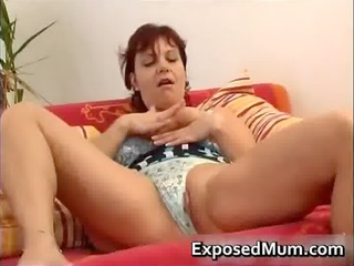 sex toy gang-banging mother spreading her