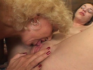 hot old elderly worships drilling young babes