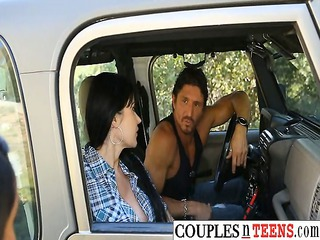 three couples mixed pounding