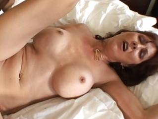 lady with large tits gang-bangs black man